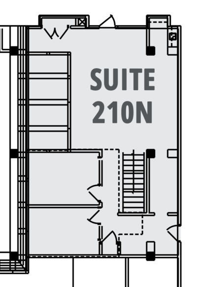 Case Suite 210N Layout