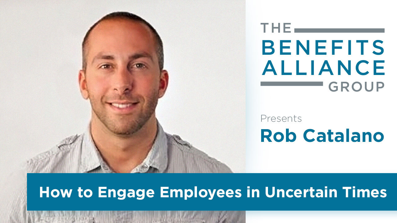 Rob Catalano of WorkTango Benefits Alliance Speaker Series