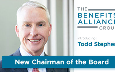 Introducing Todd Stephen As The New Benefits Alliance Chairman of The Board