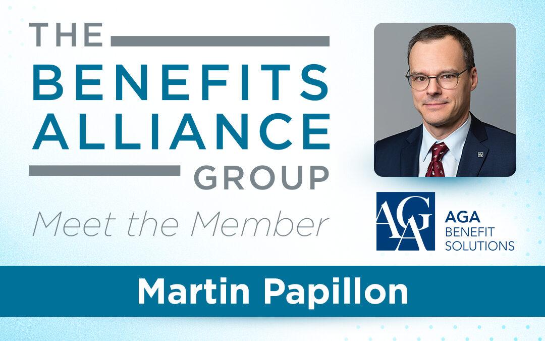 BA Member Spotlight: Martin Papillon