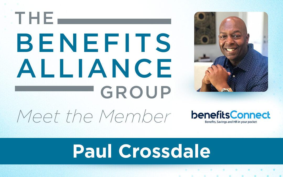 BA Member Spotlight: Paul Crossdale