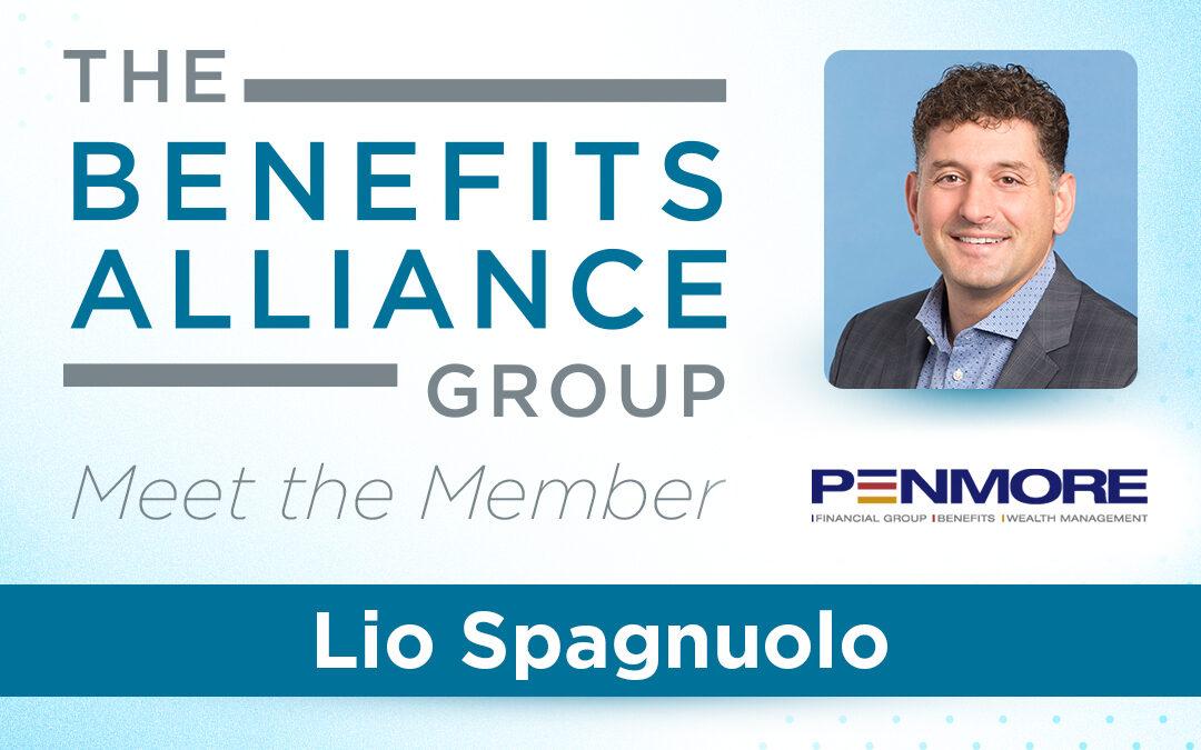Member Spotlight: Lio Spagnuolo