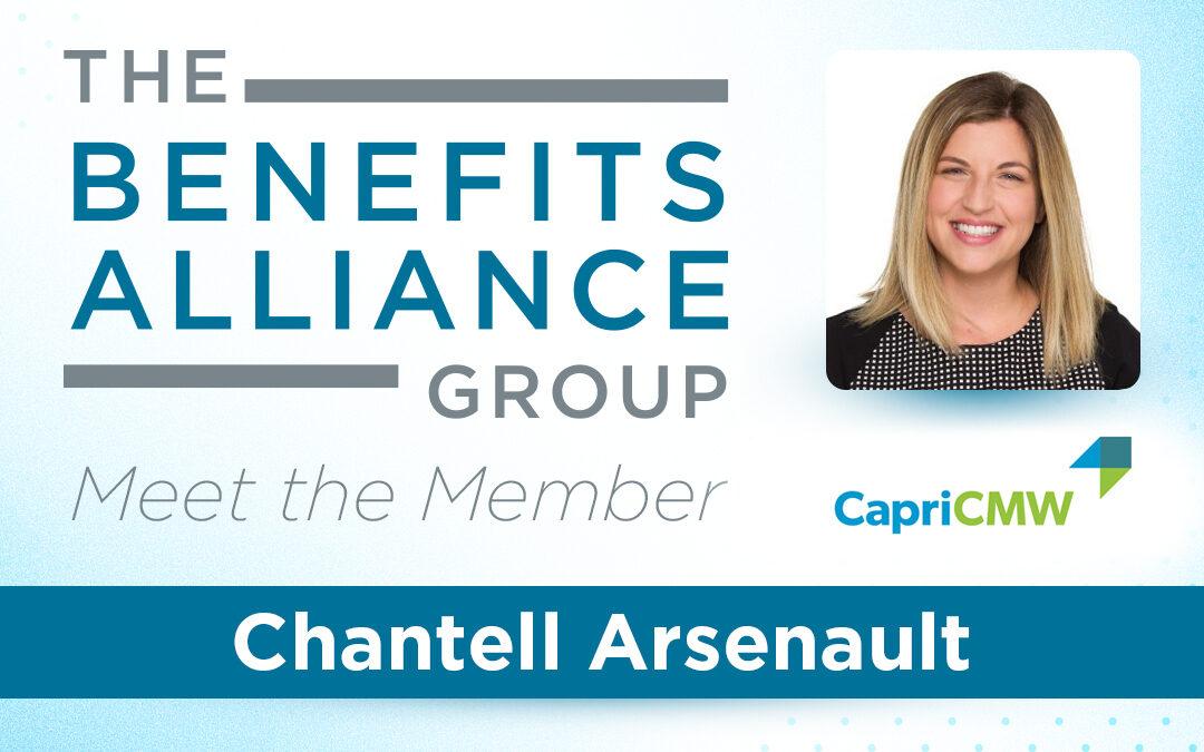 Member Spotlight: Chantell Arsenault