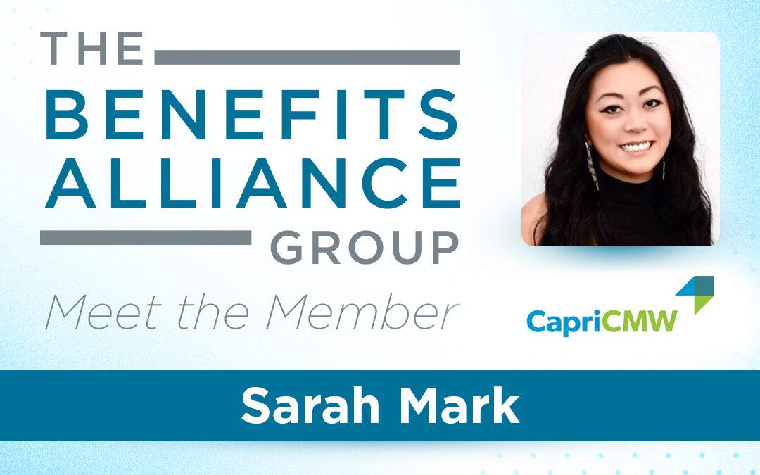 Member Spotlight: Sarah Mark