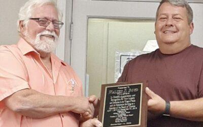 Walter Boyd Honored