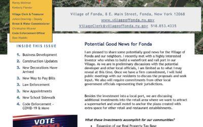 September 2020 Newsletter – Mayor's Report