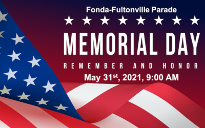 Annual Memorial Parade to Be Held May 31st 2021