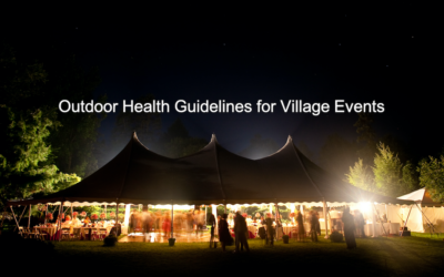 Outdoor Health Guidelines for Village Events