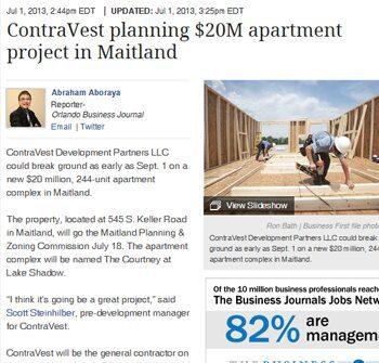July 1, 2013 Orlando Business Journal