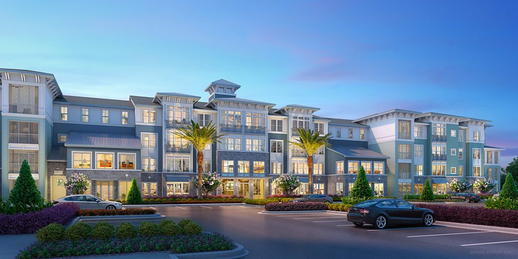 Rendering The Addison at Skyway Marina