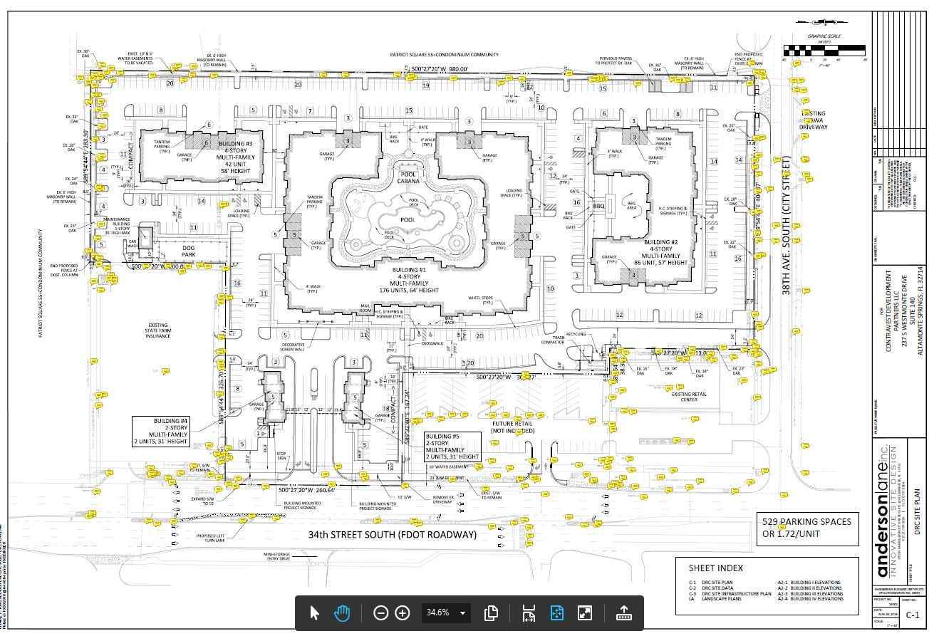 The Addison at Sunlake Site Map