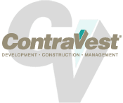 ContraVest Logo with CV