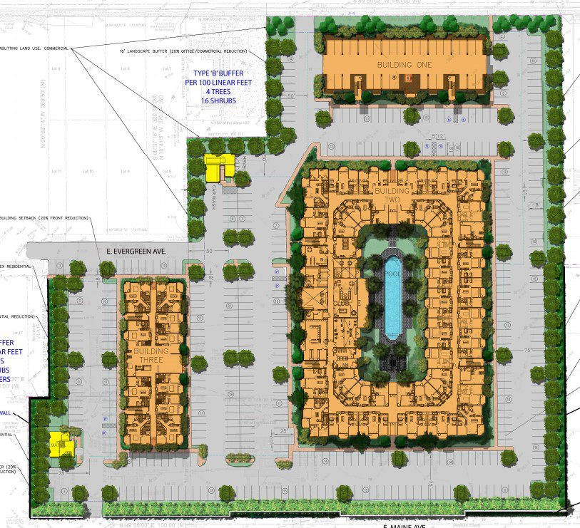 The Addison Longwood Site Map