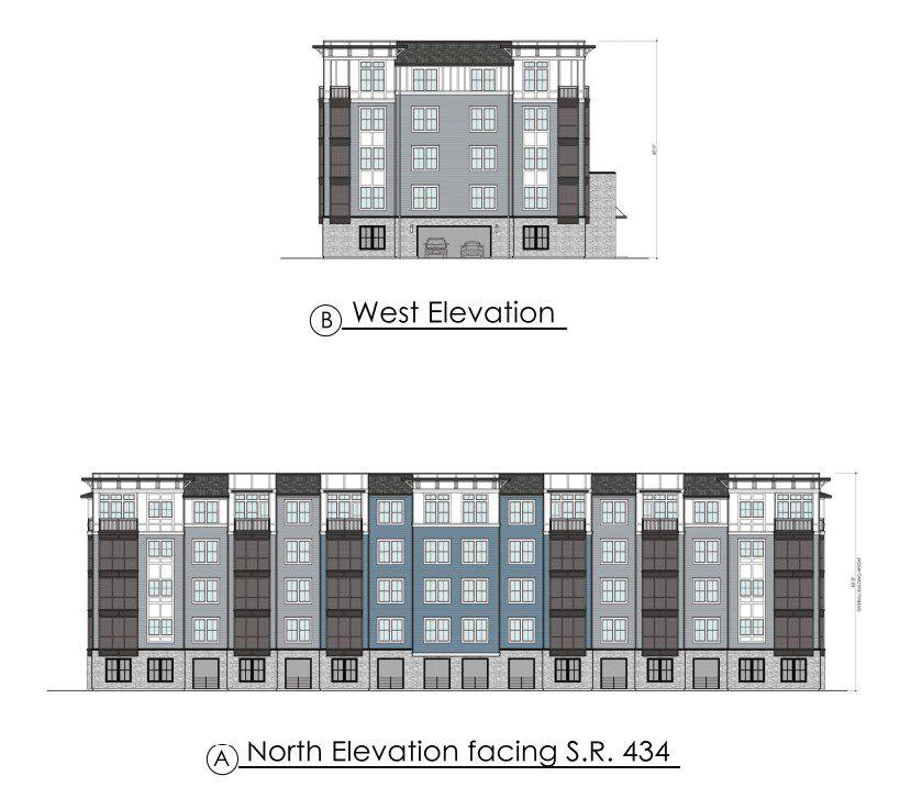 The Addison Longwood building elevation
