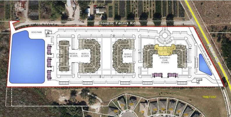 Addison Farms Apopka proposed site map