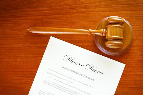 Divorce Case Papers