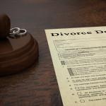 Divorce Decree Document & Gavel - William Strachan Family Law