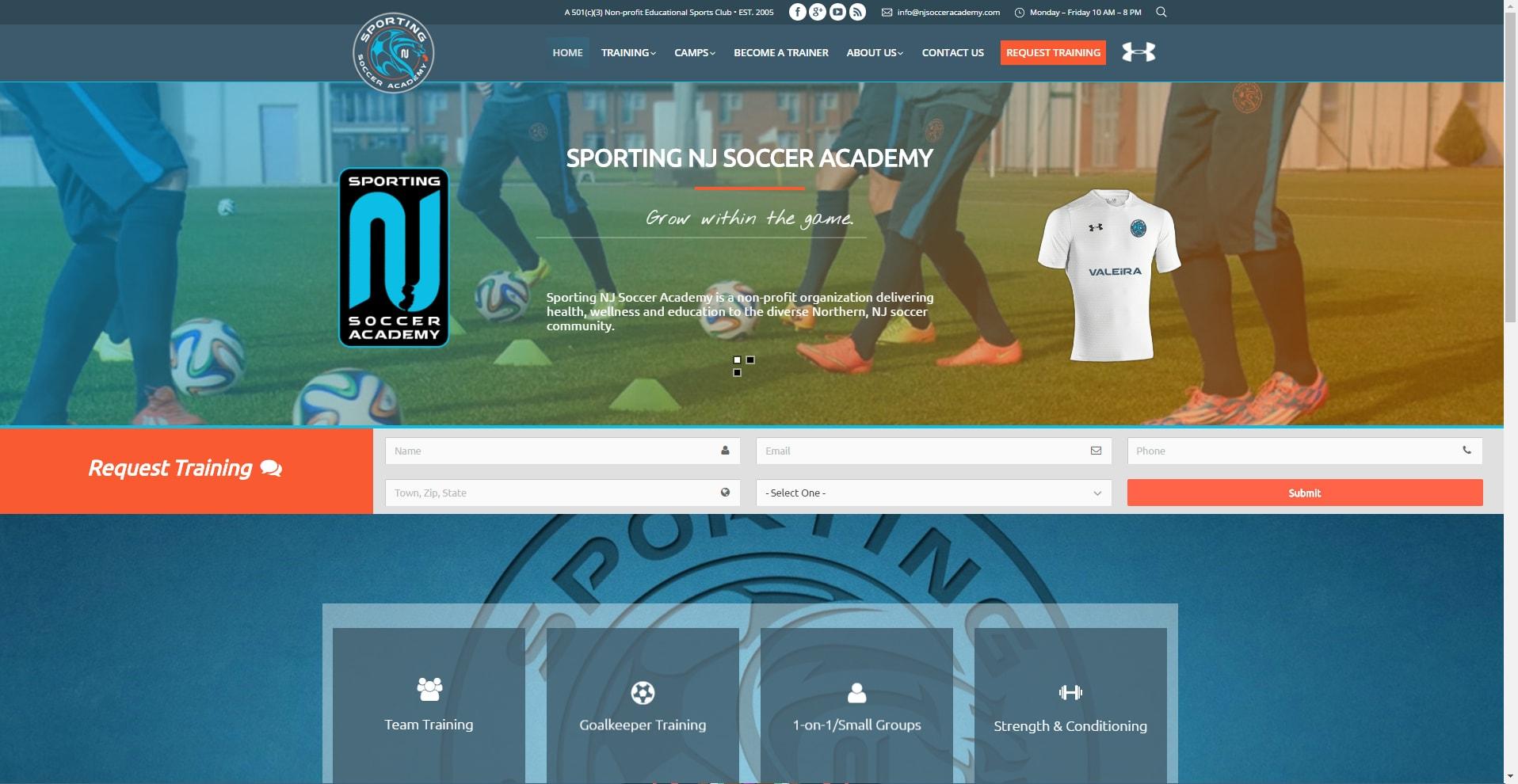 Sporting NJ Soccer