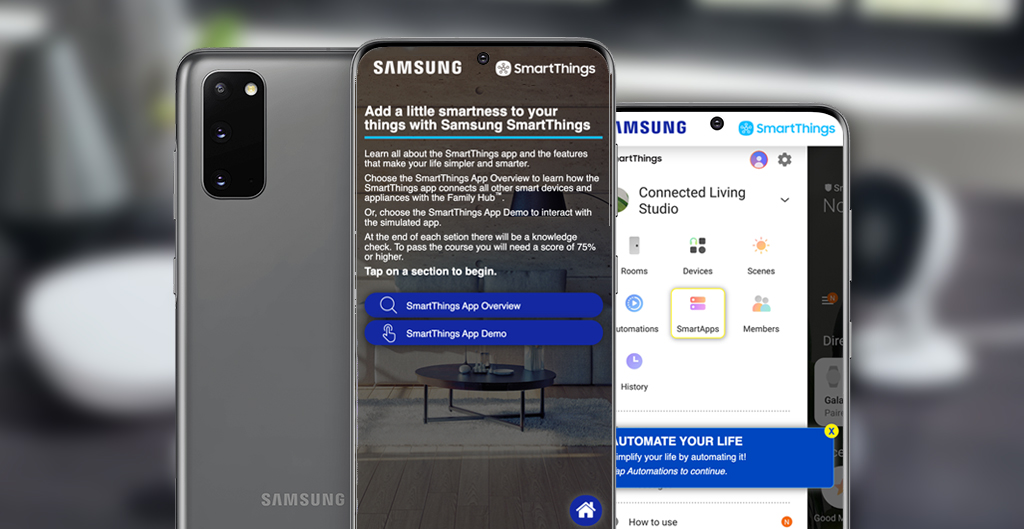 smartthings-training-app