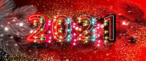 Nuestros mejores deseos de renovación, prosperidad, alegría y amor para este 2021.