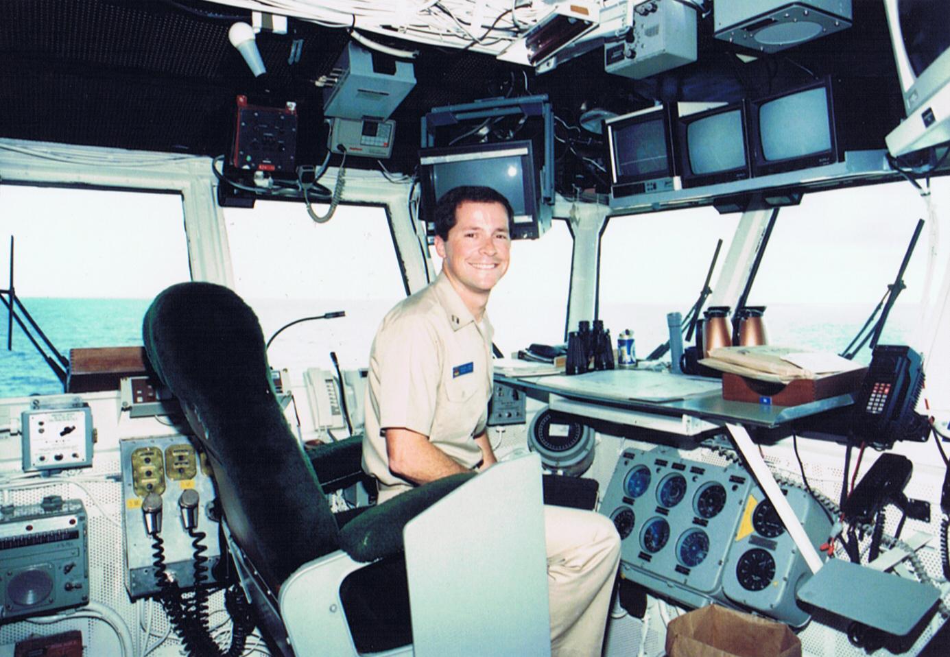 USS Independence bridge