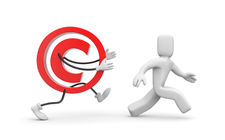 copyright-chasing-person