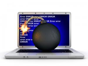 Laptop error