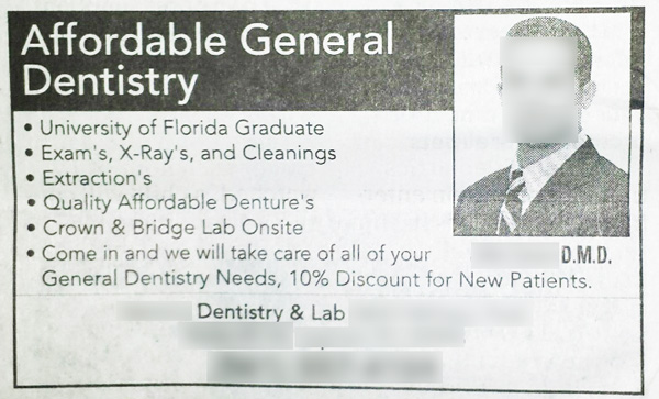 dental-ad-possessive-vs-plural