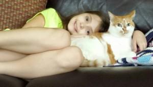 Lia reunited with Princess!