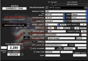 gun inventory software
