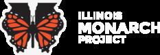 Illinois Monarch Project Logo White