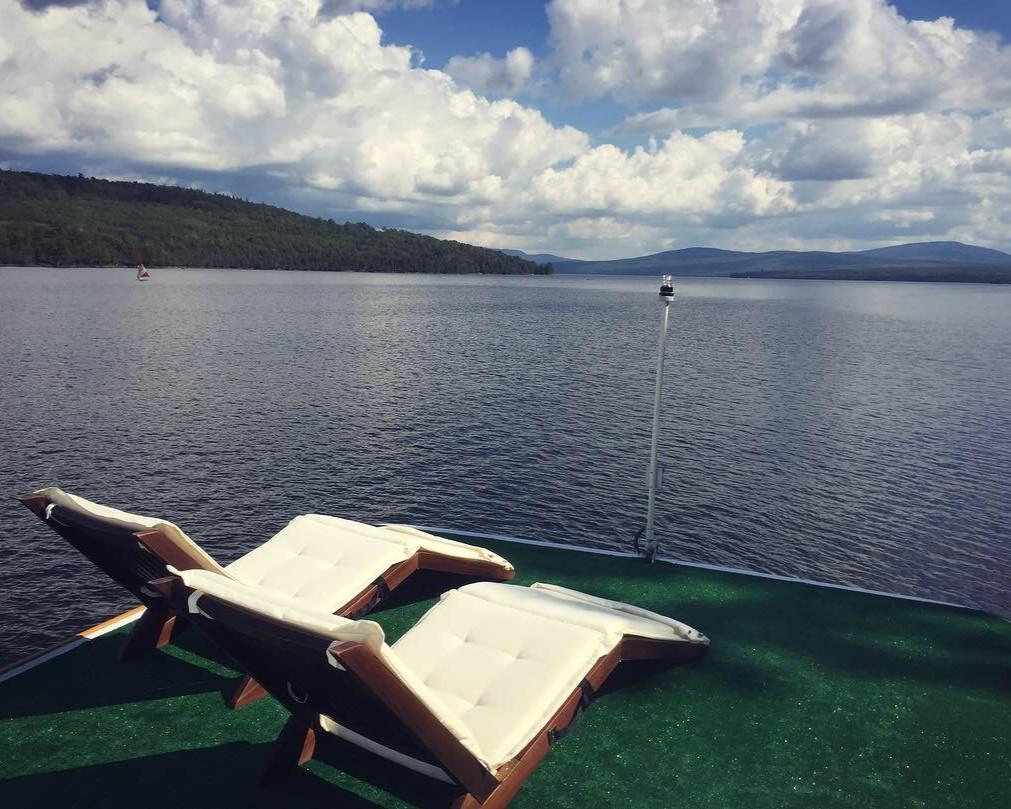 Floating Camp Nomad Rooftop Lounge Deck