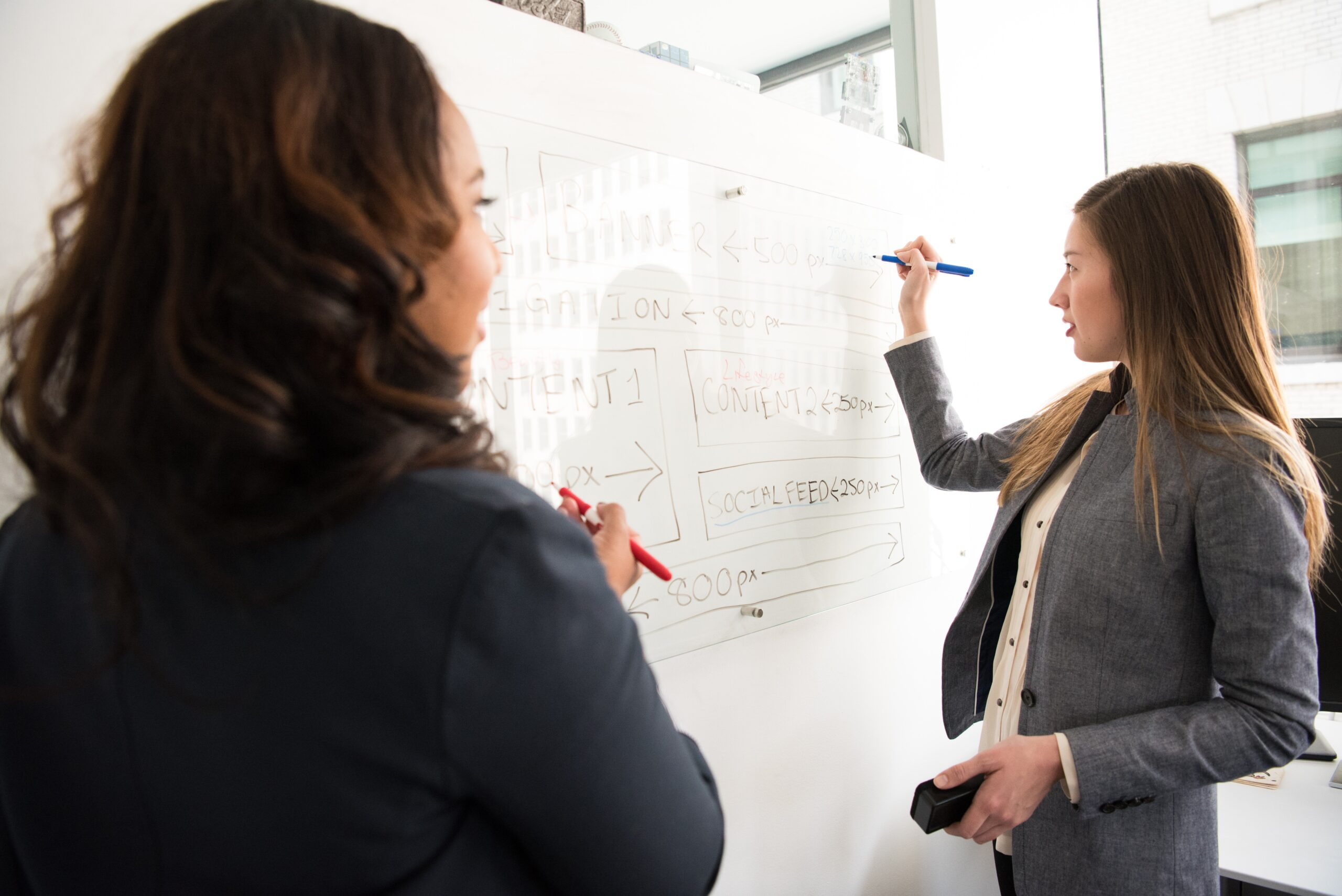 We help our client partners build better organizations by: