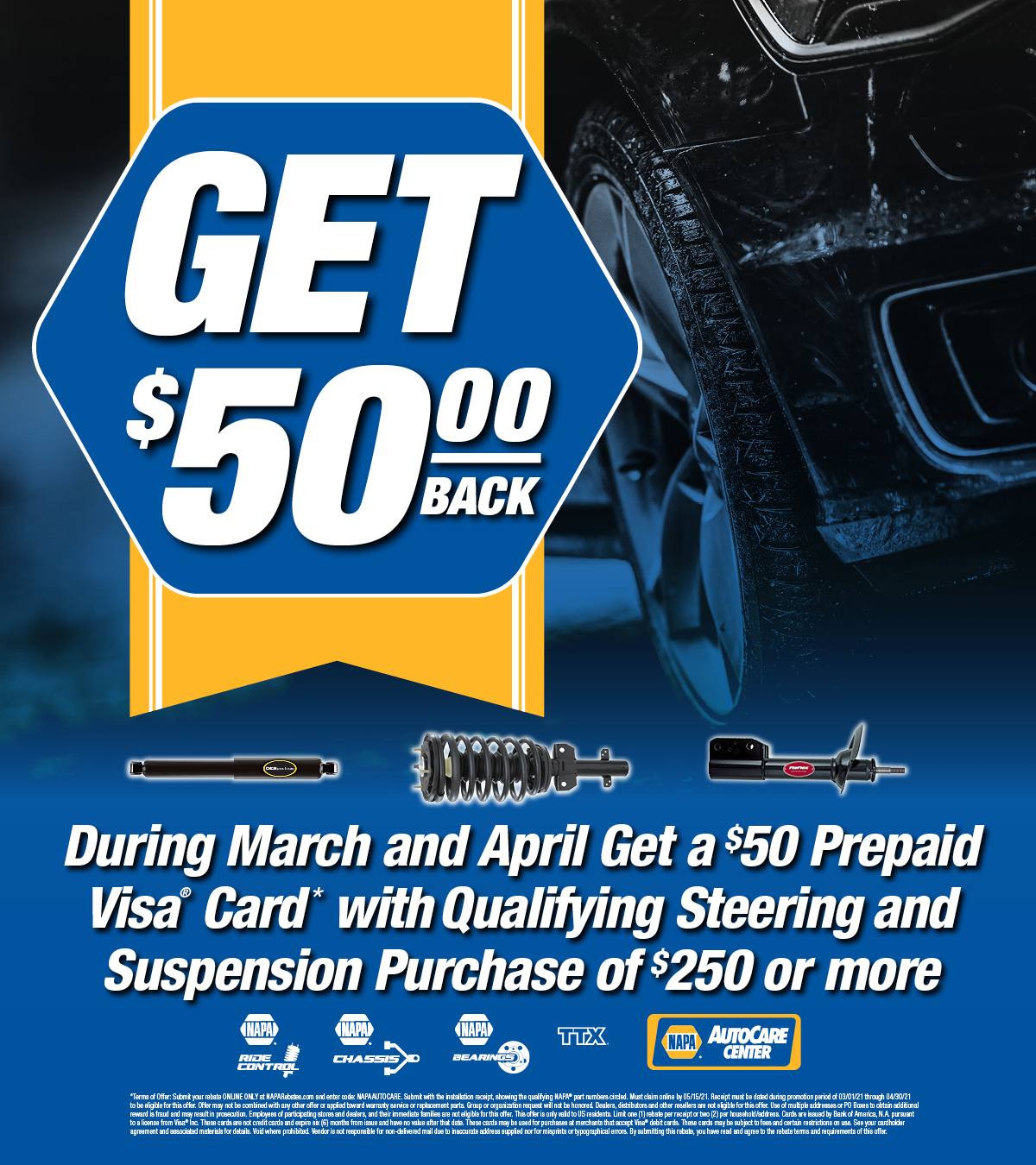 March/April Promotion!