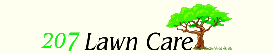 Contact 207 Lawn Care