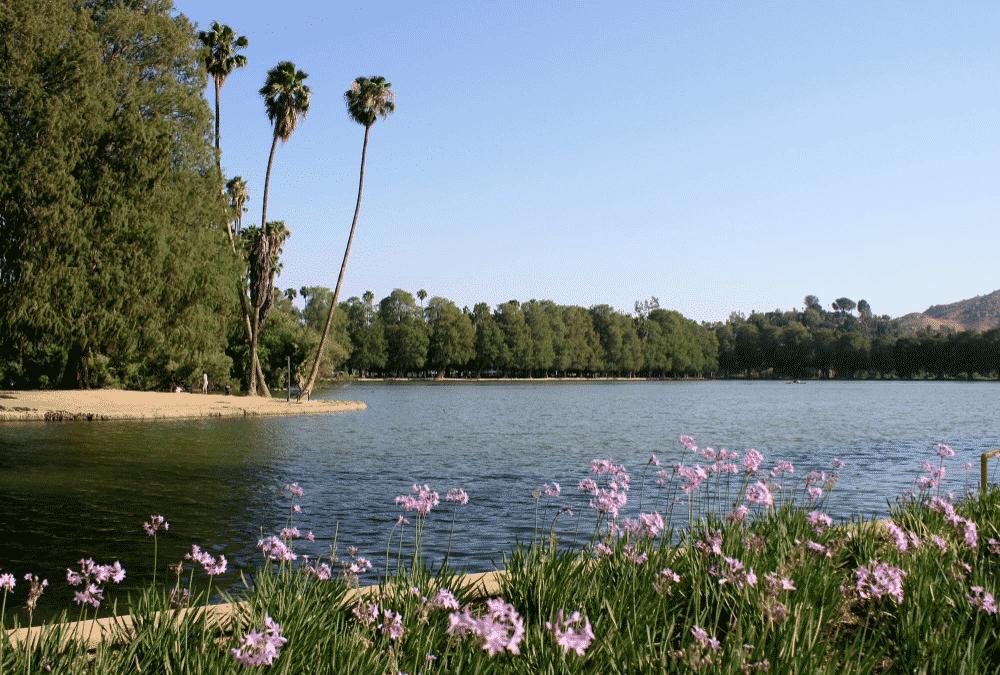 Lake Evans, Santa Ana River Trail