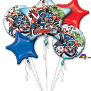 avengers balloon bouquet