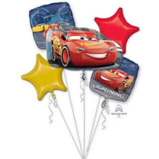 cars balloon bouquet