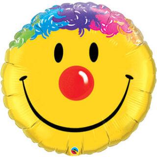 clown face balloon
