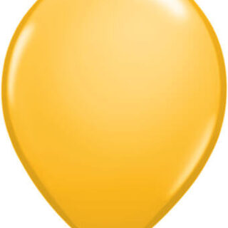 goldenrod balloon