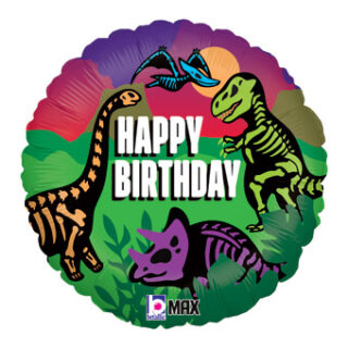 happy birthday jurassic world balloon