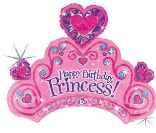 pink tiara balloon