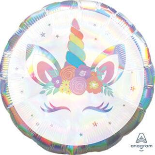 holographic unicorn balloon