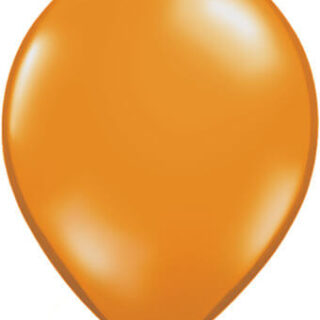 mandarin orange balloon