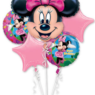 mini mouse balloon bouquet