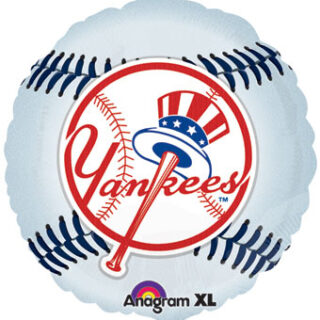 yankees baseball balloon