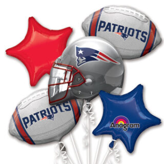 new england patriots balloon bouquet