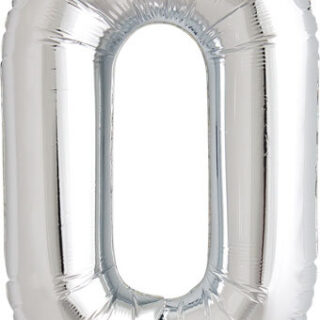 number zero balloon