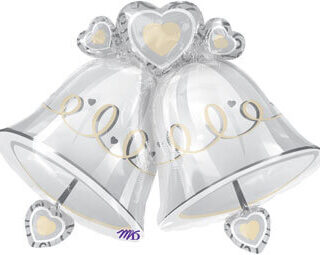 wedding bells balloon