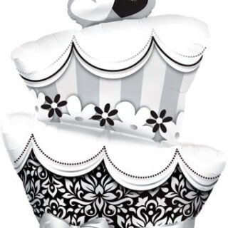wedding cake balloon